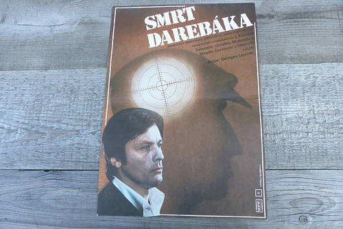 Smrt darebáka... plakát Pavel Beneš 1978