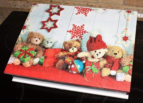 Vánoční medvídci - krabička velká