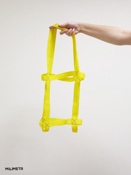Žluté popruhy na notebook 13\'-15\'