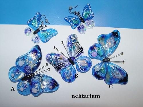 Motýl SADA 12