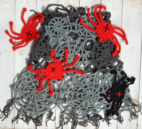 Pavučinová sukně  (nebo pelerína) šedá