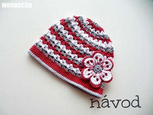 červeno - bílo-šedá -FOTONÁVOD