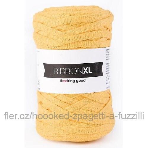 Hoooked RibbonXL - sluneční žluť (130 m)