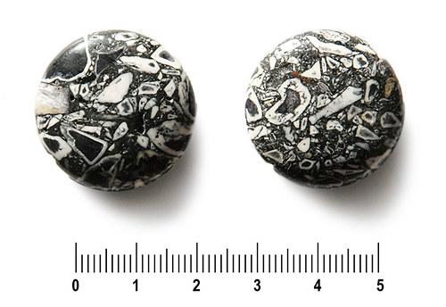 """Černá zlomková \""""čočka\"""", 27 mm, 1 ks"""