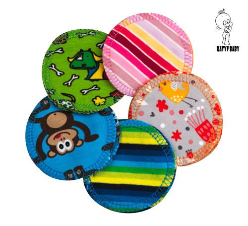 Odličovací tampony - bavlněné obrázkové 5 ks SLEVA