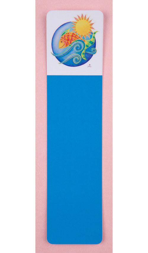 Záložka Rybka, sametové lamino