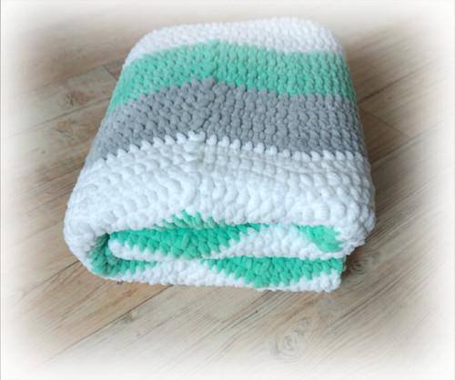 Háčkovaná deka, děcka