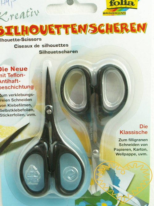 Hobby nůžky na detaily a lepivé materiály - 2 ks