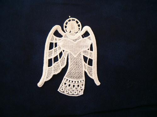 Vánoční ozdoba andělíček 46603