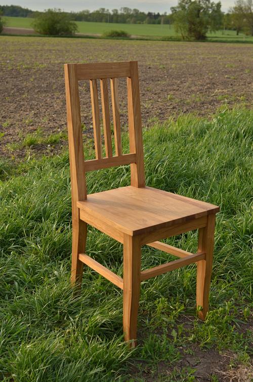 Dubová židle