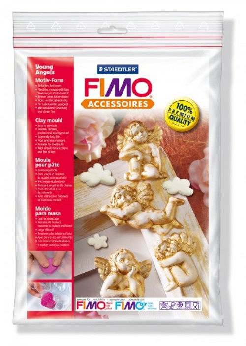 Formy na Fimo / silikonové / Andělíčci