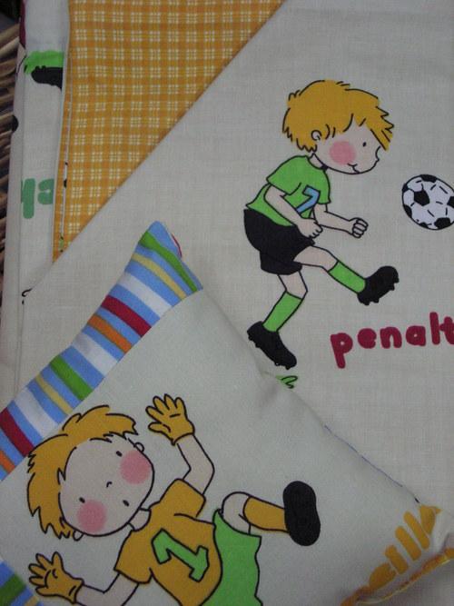 Cíchy pro děti vzor fotbalisti