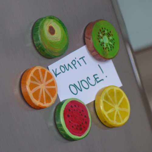 Magnetky - ovocný mix