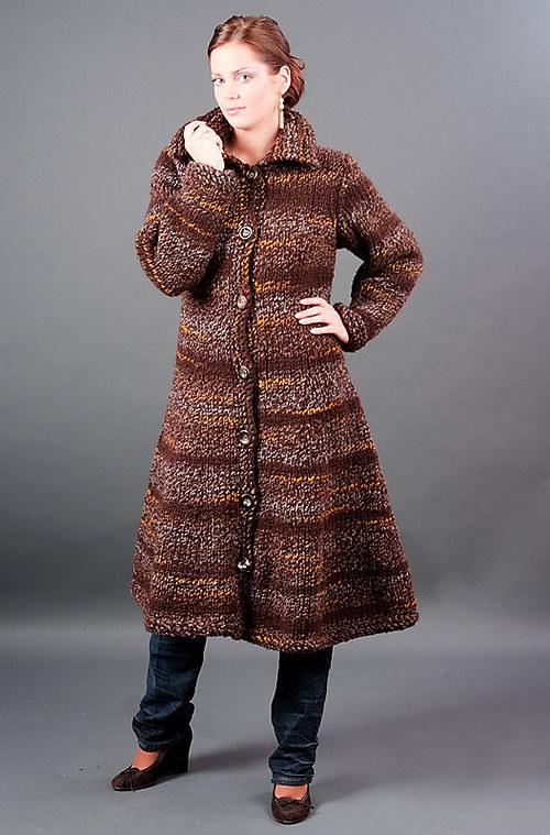Popis - návod na kabát Brownie