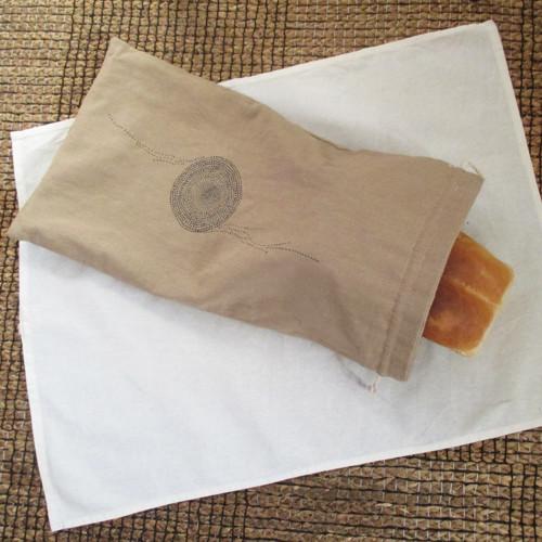 Textilní sáček na chléb