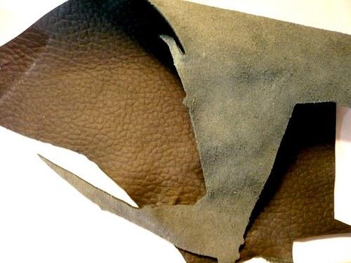 Kůže 1 mm - černá, 100 g