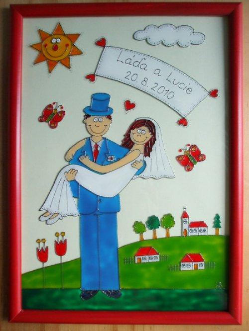 Svatební - v náručí