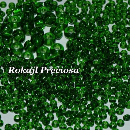Rokajl Preciosa 8/0 Tr. Smaragd, 20g