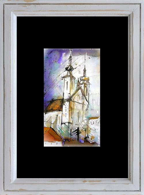 Akvarel, Brno / Dvě věže