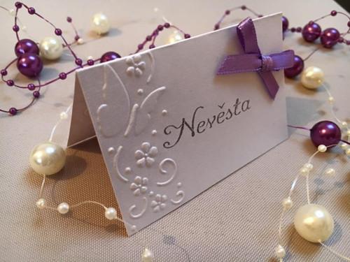 Svatební jmenovka 1012