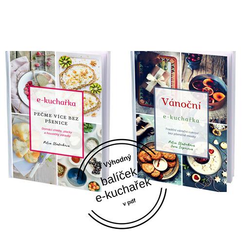 Balíček 2 e-kuchařek: vánoční+běžné pečivo