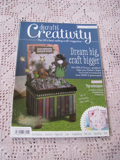Docrafts Creativity, časopis na scrapbook