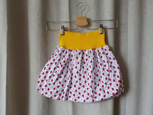 Detská balonová sukně  - berušky