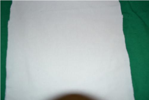 Náplet  bílý 30x36cm