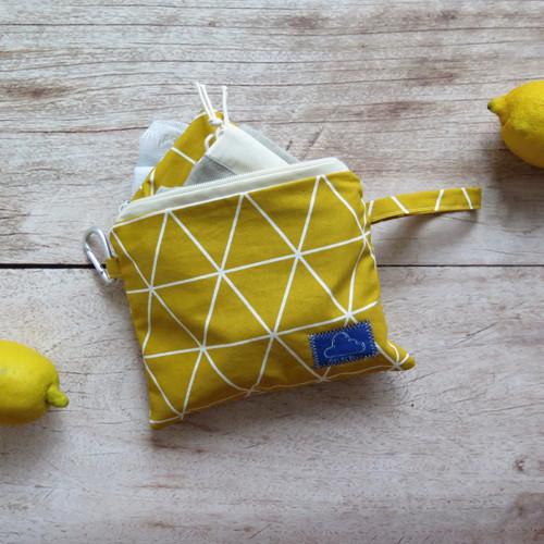 Žluté triangly (nákupní sada o 6ks)
