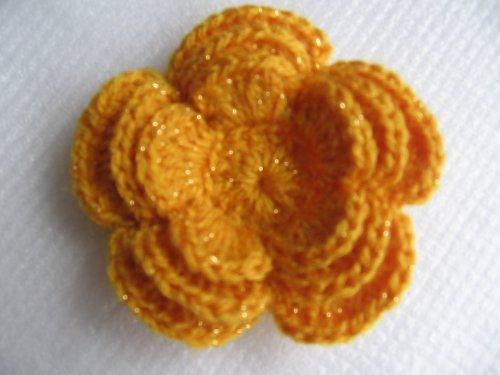 Brož-květina