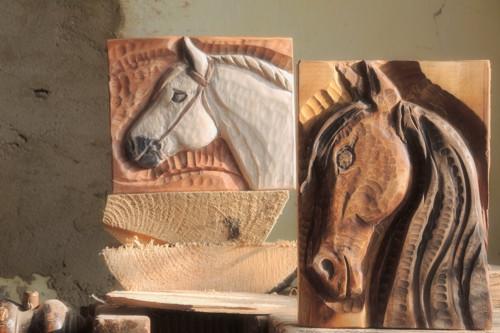 Na koňském hřbetě ráj srdce, koník hnědák