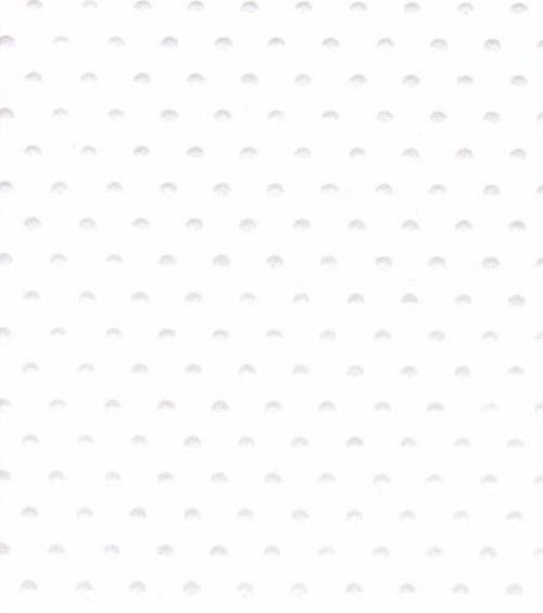 Embosovaná čtvrtka A6 - tečky bílé