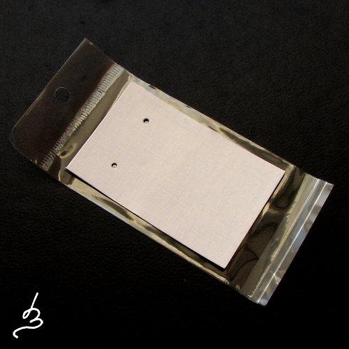 Karta na náušnice SV - 5 sad