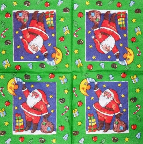 Ubrousek - santa s dárky