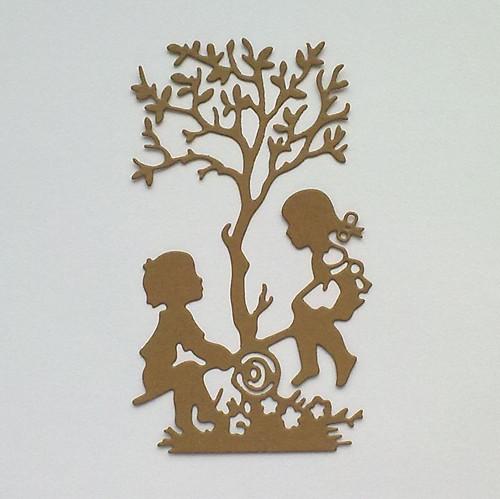 Výsek - Děti na houpačce