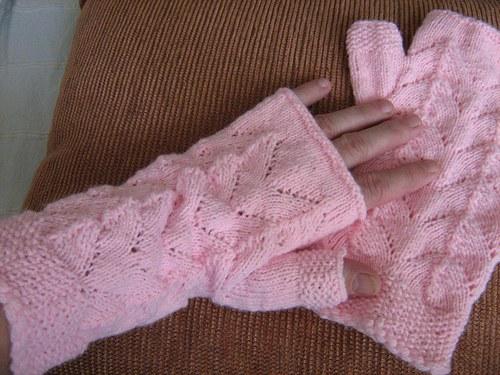 bezprstové návleky na ruce
