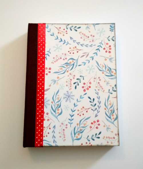 """Ručne šitý diár * zápisník * sketchbook ,,Herbs\"""" A"""
