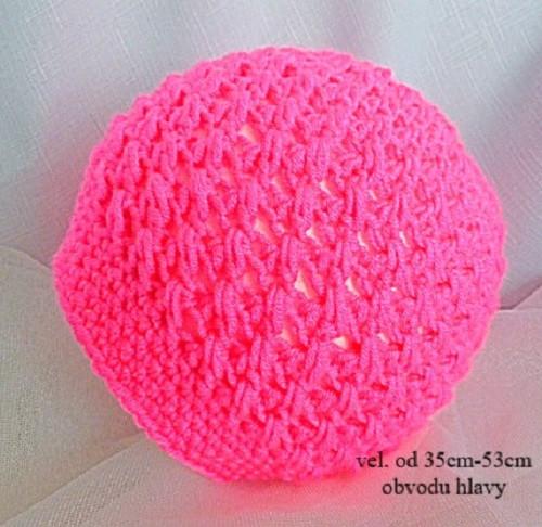 Jarní háčkované čepičky.   Zboží prodejce Janny - dětská moda  46e4453560