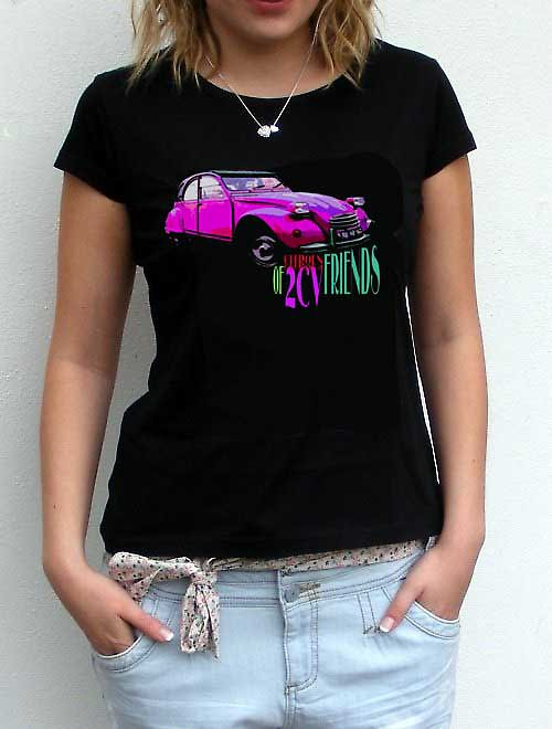 Dámské tričko,,Citroen 2CV,,