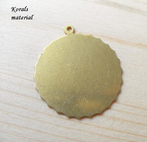 2174 výřez KRUH / Ø 20 mm / b. bronzová