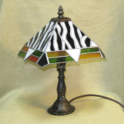 Tiffany lampa Zebra