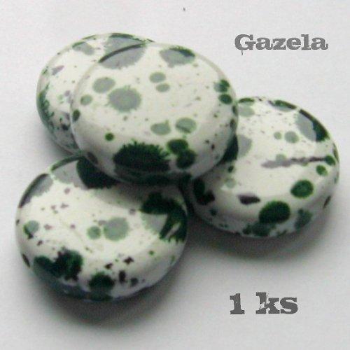 Kolečko dalmatin zelené - 1 ks