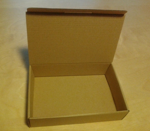 Dárková krabička větší hnědá/hnědá