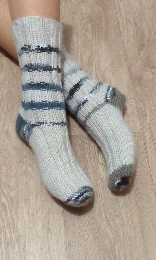 Ponožky -  proužek