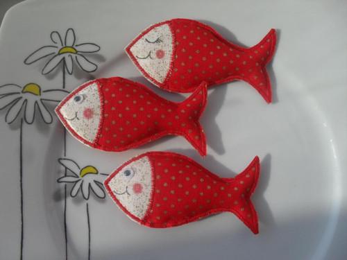 *Červené  rybky*