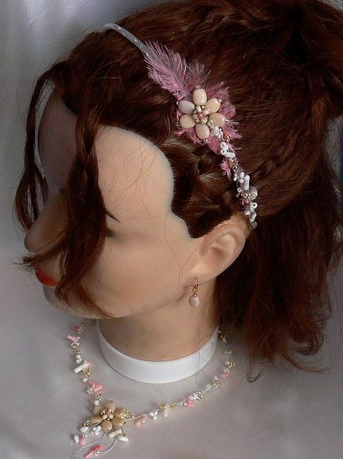 korálová princezna - čelenka