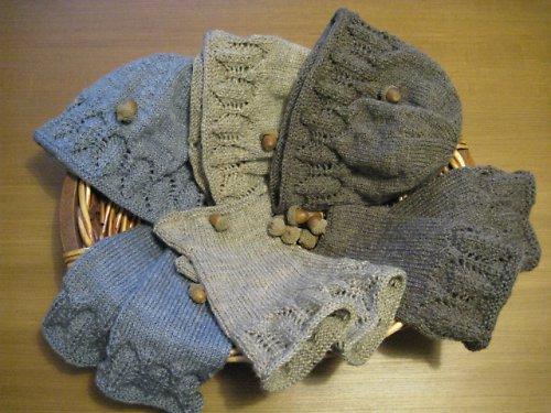 Set - čiapka a návleky na ruky
