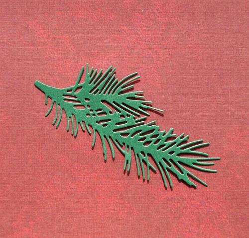 Smrková větvička jemná