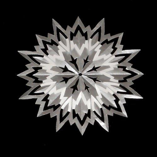 Laminovaná podložka pod hrneček - hvězda