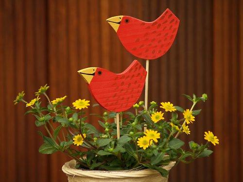 Zápich - ptáček červený